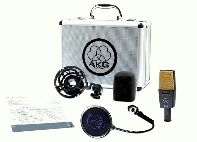 AKG Pro Audio C414 Condenser Microphone Review