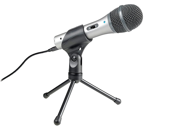 ATR2100-USB dynamic microphone Review