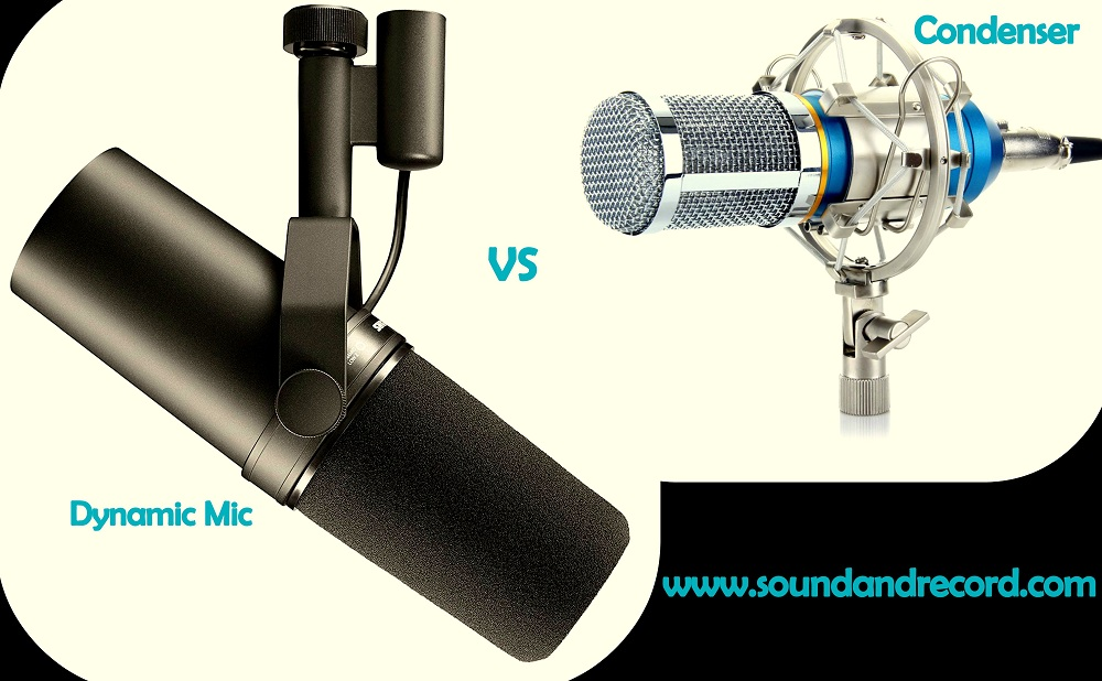 Dynamic mic vs condenser microphone
