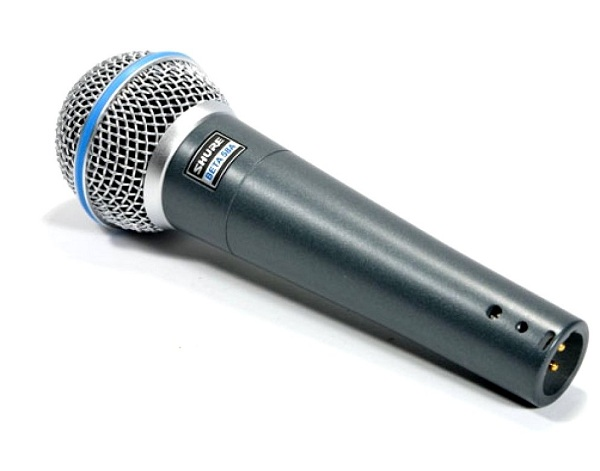 Shure BETA 58A Supercardioid Dynamic Microphone review